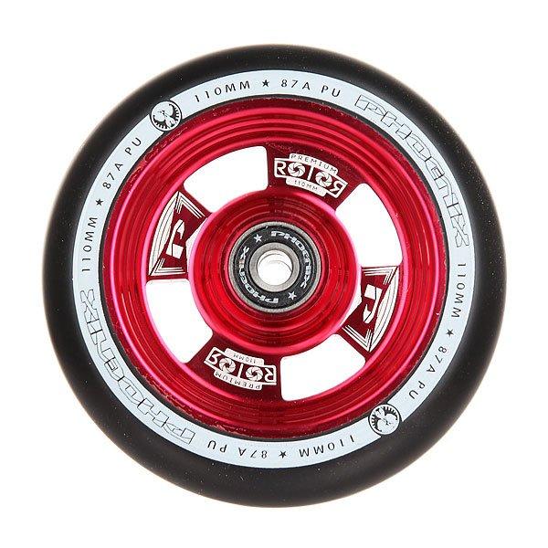 Колесо для самоката Phoenix Rotor Core Wheel 110mm With Abec 9 Bearings Red/Black
