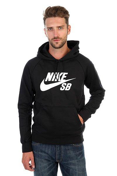 Толстовка кенгуру Nike SB Icon Black