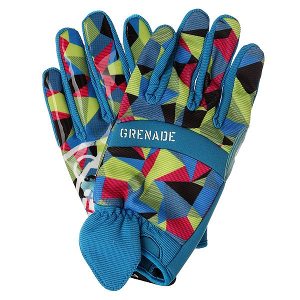 Перчатки сноубордические Grenade G.a.s. Matt Moore Blue