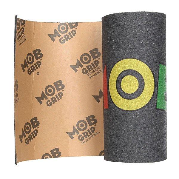 Шкурка для скейтборда для скейтборда Mob Logo Multi<br><br>Цвет: черный,мультиколор<br>Тип: Шкурка для скейтборда<br>Возраст: Взрослый<br>Пол: Мужской
