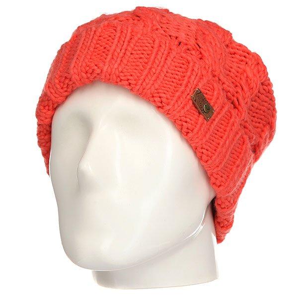 Шапка женская Roxy Tram Camellia<br><br>Цвет: оранжевый<br>Тип: Шапка<br>Возраст: Взрослый<br>Пол: Женский
