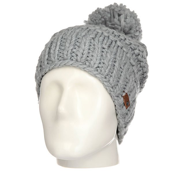 Шапка женская Roxy Winter Mid Heather Grey