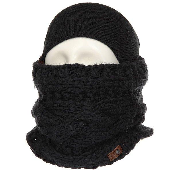 Шарф труба женский Roxy Winter Collar True Black