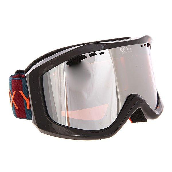 Маска для сноуборда женская Roxy Sunset Pack Ethnikstripe LegionНеобычный дизайн масок Sunset Art Series от Roxy сразу привлекает к себе внимание.Характеристики:Яркие, стильные, оригинальные маски обладают ударопрочной сферической линзой с 3D сетчатыми фильтрами, которая обеспечивает широкое поле зрения, сводит к минимуму искажения. Также линза на 100% защищает от ультрафиолетового излучения. Антифоговое покрытие не дает маске запотевать изнутри.Прочная оправа выполнена из полиуретана для обеспечения комфортной посадки и обладает отличной системой вентиляции. Широкий регулируемый ремешок с накладкой против скольжения.<br><br>Цвет: черный<br>Тип: Маска для сноуборда<br>Возраст: Взрослый<br>Пол: Женский
