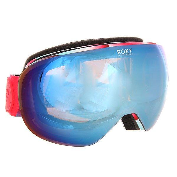 Маска для сноуборда женская Roxy Popscreen Snow Ocean SprayСтильная маска Roxy Popscreen обладает ударопрочной двойной сферической линзой с 3D сетчатыми фильтрами, которая обеспечивает четкое и широкое поле зрения и сводит к минимуму искажения. Характеристики:Устойчивая к царапинам линза на 100% защищает от ультрафиолетового излученияАнтифоговое покрытие не дает маске запотевать изнутри. В месте соприкосновения с лицом имеется дополнительный слой пены и мягкого флиса, поглощающего влагу. Прочная внутренняя оправа выполнена из полиуретана для обеспечения комфортной посадки и обладает отличной системой вентиляции. Широкий регулируемый ремешок с накладкой против скольжения. Маска Roxy Popscreen совместима со всеми видами шлемов.<br><br>Цвет: мультиколор<br>Тип: Маска для сноуборда<br>Возраст: Взрослый<br>Пол: Женский