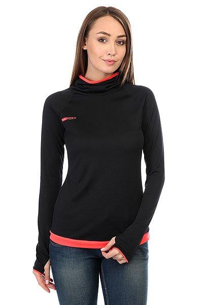 Толстовка сноубордическая женская Roxy Stretch True Black<br><br>Цвет: черный<br>Тип: Толстовка сноубордическая<br>Возраст: Взрослый<br>Пол: Женский