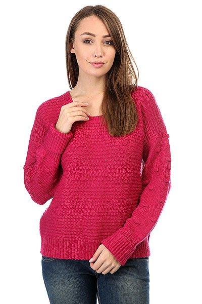 Свитер женский Roxy Rest Sangria<br><br>Цвет: розовый<br>Тип: Свитер<br>Возраст: Взрослый<br>Пол: Женский