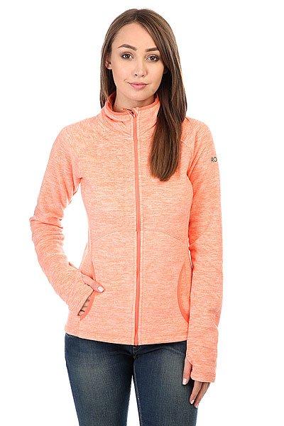 Толстовка сноубордическая женская Roxy Harmony Camellia<br><br>Цвет: оранжевый<br>Тип: Толстовка сноубордическая<br>Возраст: Взрослый<br>Пол: Женский