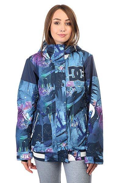 Куртка женская DC Dcla Howling MoonСноубордическая куртка в стиле колледж-толстовок готова освежить Ваш снежный лук и защитить от ветра и непогоды благодаря влагостойкой ткани Exotex 10K и утеплителю. В DC DCLA Вам будет обеспечена свобода движений, защита от снега и яркий динамичный образ, а удобные внутренние и внешние карманы на молнии вместят все необходимые мелочи от наличности и телефона до сноубордической отвертки.Характеристики:Влагостойкая тканьExotex 10K.Утеплитель 80 гр туловище, 40 гр рукава. Подкладка: тафта. Прямой крой.Проклеенные в стратегических местах швы. Вентиляционные сетчатые карманы подмышками. Регулировка капюшона в 3 направлениях. Снегозащитная юбка.Манжеты из лайкры. Регулировка манжет на липучке. Эластичный контрастный подол. Карман для ски-пасса на молнии на рукаве. Передние карманы на молнии. Медиа-карман. Внутренний сетчатый карман. Внутренний карман на липучке. Нашивка с логотипом на груди. КоллекцияFoundation.<br><br>Цвет: мультиколор<br>Тип: Куртка утепленная<br>Возраст: Взрослый<br>Пол: Женский