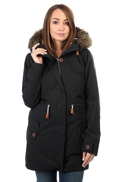 Купить со скидкой Куртка парка женская Roxy Amy 3n1 True Black