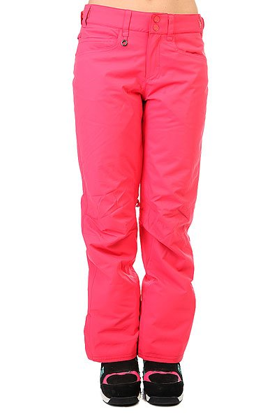 Штаны сноубордические женские Roxy Backyard Paradise PinkПрактичныесноубордические штаны для покорительниц склонов и вершин, призванные обеспечивать комфорт на протяжении долгих дней активного катания. Минималистичный дизайн без лишних деталей обеспечивает лаконичный внешний вид, а классический крой создает оптимальную посадку, не сковывая движений. Мембранная ткань DryFlight® 10k не допустит промокания и отведет лишнюю влагу, а утеплитель Warmflight® 80 г сохранит драгоценное тепло. На случай потепления в штанах предусмотрены сетчатые вентиляционные карманы, расположенные с внутренней стороны бедер.Характеристики:Мембрана 10K DryFlight®.Классический крой. Утеплитель Warmflight® 80 г. Подкладка из лёгкой тафты. Проклеенные критические швы. Регулируемая на липучках талия. Сетчатые вставки для вентиляции с внутренней стороны бедер. Гейтеры из тафты. Держатель для ски-пасса.<br><br>Цвет: розовый<br>Тип: Штаны сноубордические<br>Возраст: Взрослый<br>Пол: Женский
