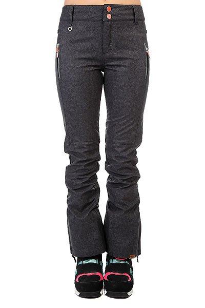 Штаны сноубордические женские Roxy Torah Bright Motion Texture TrueЭти брюки, созданные Roxy совместно со знаменитой сноубордисткой Торой Брайт, обеспечат максимальный комфорт и защиту от холода в самых суровых условиях. Водостойкая дышащая мембрана DryFlight 10K, полностью проклеенные швы и внутренний пояс-манжет не позволят ни снегу, ни влаге проникнуть внутрь.Характеристики:Эластичный софтшелл. Флис Polar с начесом. Система пристегивания куртки к штанам. Края штанин со вставкой на молнии. Усиленные края штанин для большей износостойкости. Штанины с гейтерами из тафты и с эластичной вставкой из лайкры. Холдер для скипасса.<br><br>Цвет: серый<br>Тип: Штаны сноубордические<br>Возраст: Взрослый<br>Пол: Женский