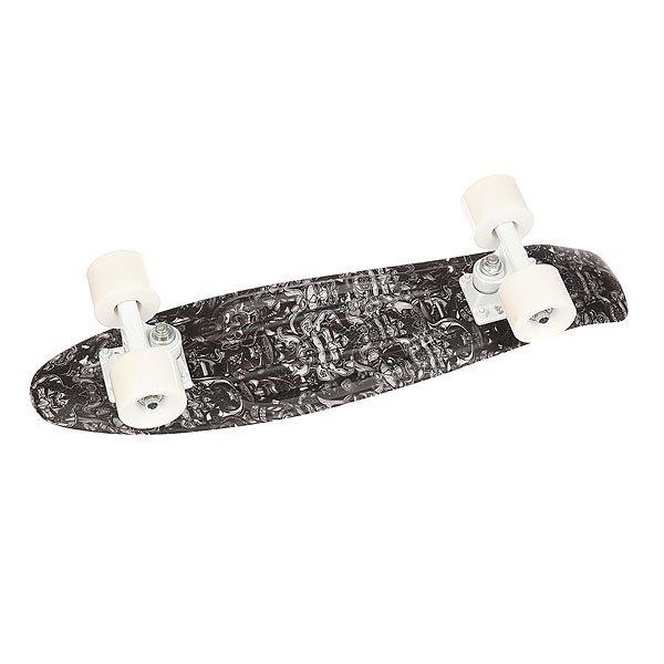 Скейт мини круизер Union Snow Samurai White/Black/Grey 6 x 22.5 (57.2 см)Уникальный круизер от Union для города или скейт парка. Гибкий круизер порадует Вас своим компактным размером и отличной управляемостью!Технические характеристики: Длина - 57,2 см, ширина - 15,3 см.Автомобилепрочный - отличается высокой гибкостью и прочностью, не сломается, даже если на него случайно наедет автомобиль!Большие мягкие колёса Вираж 59 мм 83А.Подвески ЮНИОН из прочного алюминиевого сплава.Скоростные подшипники ЮНИОН ABEC7.<br><br>Цвет: белый,черный,серый<br>Тип: Скейт мини круизер