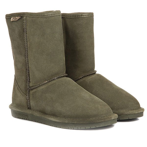 Угги женские Bearpaw Emma Short Olive