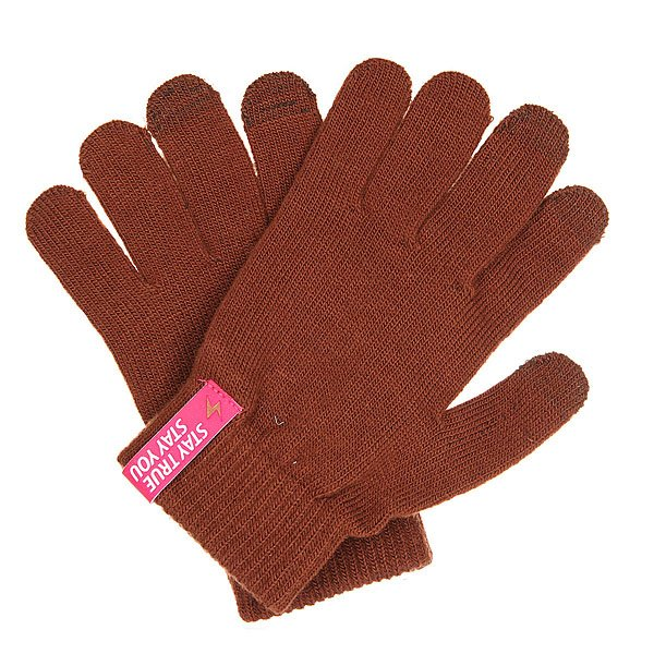 Перчатки TrueSpin Touch Gloves Brown