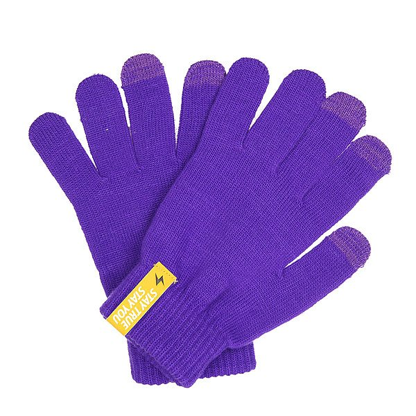 Перчатки TrueSpin Touch Gloves Purple