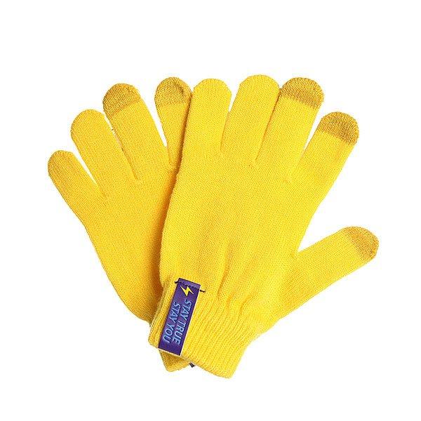 Перчатки TrueSpin Touch Gloves Yellow