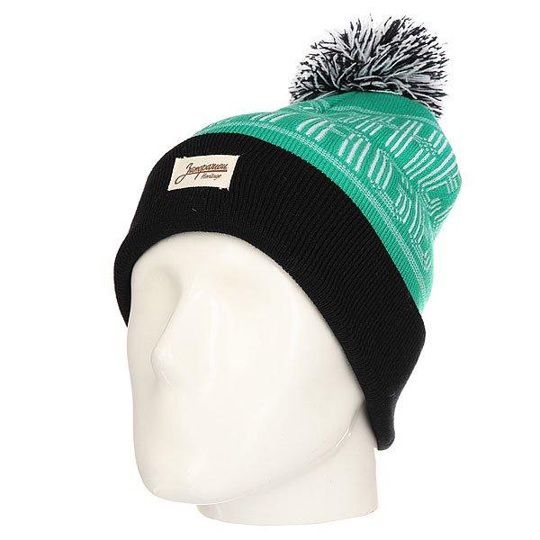 Шапка Запорожец Classic Logo Patch Green/Black<br><br>Цвет: черный,зеленый<br>Тип: Шапка<br>Возраст: Взрослый<br>Пол: Мужской