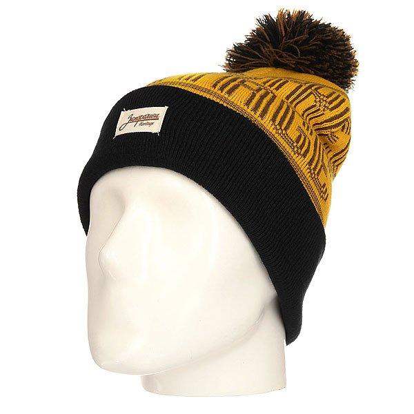 Шапка Запорожец Classic Logo Patch Sand/Brown<br><br>Цвет: желтый,коричневый,черный<br>Тип: Шапка<br>Возраст: Взрослый<br>Пол: Мужской