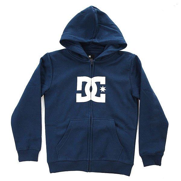 Толстовка классическая детская DC Star Zh Boy Varsity Blue<br><br>Цвет: синий<br>Тип: Толстовка классическая<br>Возраст: Детский