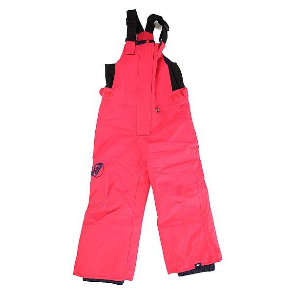 Комбинезон детский Roxy Lola Pt K Snpt Paradise PinkНет защиты от холода проще, чем сноубордические штаны-комбинезон с нагрудником для маленьких детей. А водостойкая и дышащая мембрана ROXY DryFlight® 10K, эластичные регулируемые плечевые лямки и пояс, обеспечат Вашему ребенку море счастливых приключений в горах.Технические характеристики: Технологичная саржа из полиэстера.Водостойкая и дышащая мембрана DryFlight® 10К.Синтетический утеплитель 80 г.Подкладка из легкой тафты.Критические швы проклеены.Эластичные регулируемые подтяжки.Утяжки в районе талии.Эластичные боковые панели из лайкры.Гетры из тафты.Холдер для скипасса.Сезон - зима, до -15 градусов.Необходимо одевать вместе с термобельем.<br><br>Цвет: розовый<br>Тип: Комбинезон<br>Возраст: Детский