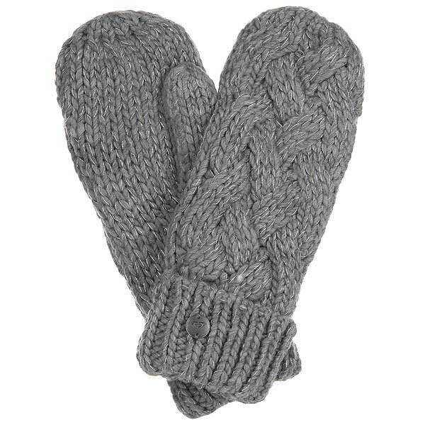 Варежки женские Roxy Love&snowmitten Mid Heather Grey