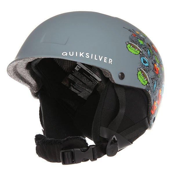 Шлем для сноуборда детский Quiksilver Empire Sesame Street Oscar