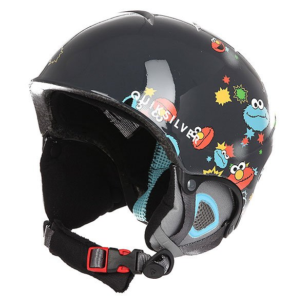 Шлем для сноуборда детский Quiksilver The Game Sesame Street Oscar