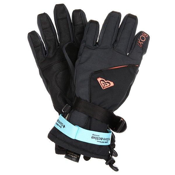 Перчатки сноубордические женские Roxy Crystal Gloves True BlackЯркие и технологичные перчатки Roxy Crystal предлагают отличные возможности по защите Ваших рук от ветра, холода и снега в период активного сноубордического сезона. Качественный утеплитель под прочной тканью со вставкой из водонепроницаемого материала GORE-TEX® обеспечит Ваши руки теплом, в то время как мягкая трикотажная подкладка с начесом позволит создать комфорт и уют. Эргономичная форма, регулируемая область запястья и регулируемые манжеты – это максимум мобильности и комфорта в невероятно привлекательной форме от Roxy.Характеристики:Мягкая трикотажная подкладка с начесом. Утеплитель: 160 г. Эргономичная форма. Регулируемая область запястья. Регулируемые манжеты.Вставка на большом пальце для протирки объектива. Пластиковый карабин для состегивания пары. Эластичный лиш. Вставка из водонепроницаемого материала GORE-TEX®.Фирменный логотип Roxy.<br><br>Цвет: черный<br>Тип: Перчатки сноубордические<br>Возраст: Взрослый<br>Пол: Женский