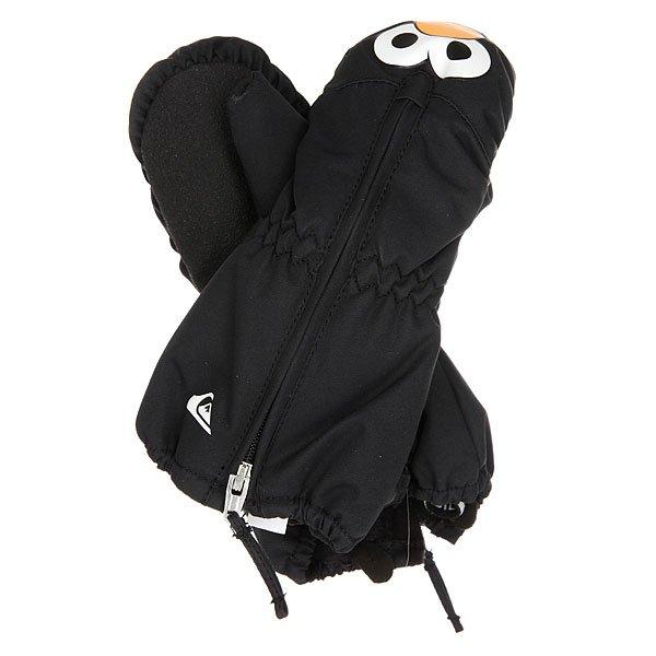 Варежки сноубордические детские Quiksilver Indie Black