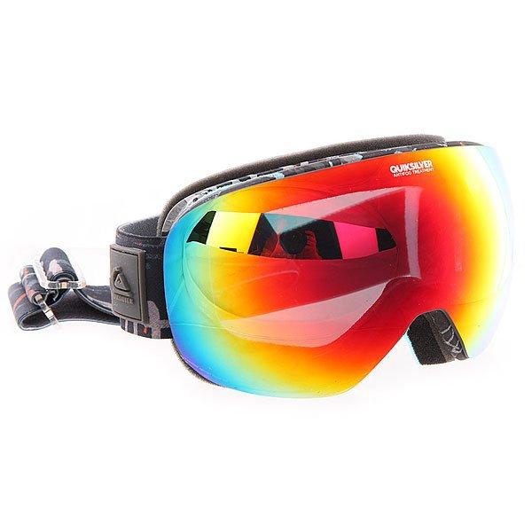 Маска для сноуборда Quiksilver Qs_r Hieline BlueСферическая линза предлагает невероятную ясность и прозрачность в любом направлении взгляда. Специальное покрытие и форма предотвращают бликование и запотевание линзы, а также обеспечивают превосходное периферическое зрение.Характеристики:Оправа: 100% полиуретан. Система вентиляции. Боковая клипса для плотного прилегания к шлему. Двойная сферическая линза - исключительное периферийное зрение. 100% защита от ультрафиолетовых лучей.Покрытие против царапин и запотевания. Вентиляционные отверстия в линзе.Доступна с обычной или зеркальной линзой.<br><br>Цвет: серый,мультиколор<br>Тип: Маска для сноуборда<br>Возраст: Взрослый<br>Пол: Мужской