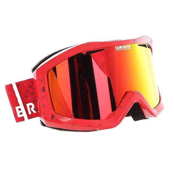 Маска для сноуборда Quiksilver Fenom Pack Racing Red