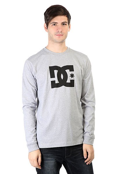 Лонгслив DC Star Ls Heather Grey