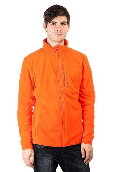 Толстовка классическая Quiksilver Cosmo Fz Flc Flame<br><br>Цвет: оранжевый<br>Тип: Толстовка классическая<br>Возраст: Взрослый<br>Пол: Мужской