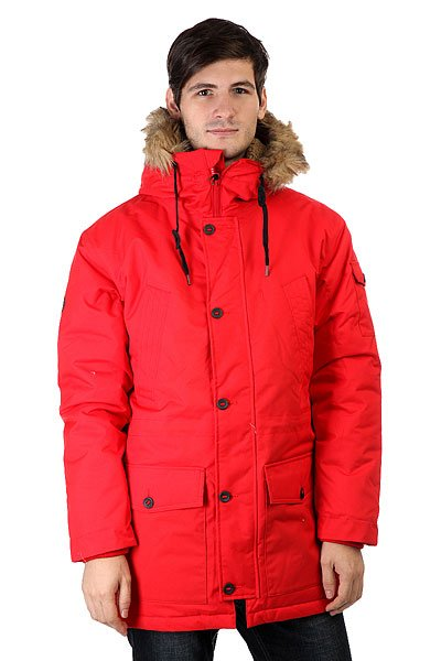 Куртка парка Quiksilver Ferris Parka Racing Red