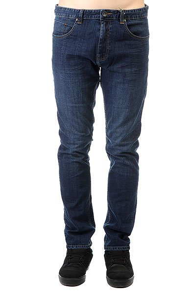 Джинсы узкие Billabong Slim Outsider Denim Sea Wash джинсы billabong джинсы slim outsider denim fw17