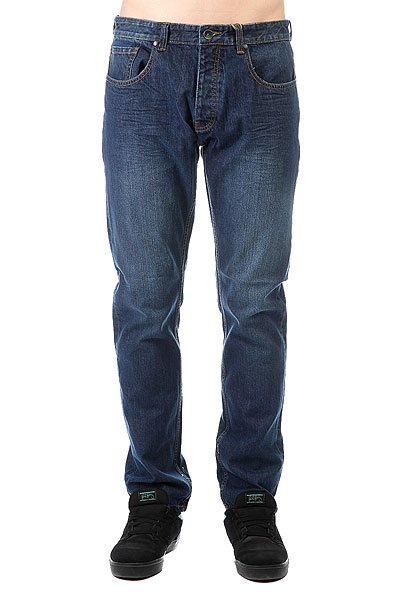 Джинсы прямые Billabong Straight Fifty Denim Sea Wash