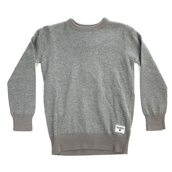 Джемпер детский Billabong All Day Gray<br><br>Цвет: серый<br>Тип: Джемпер<br>Возраст: Детский