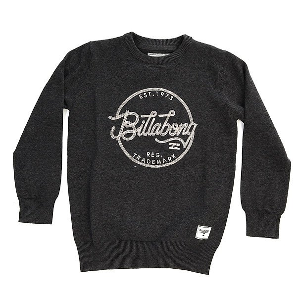 Джемпер детский Billabong Lokeren Black Heather