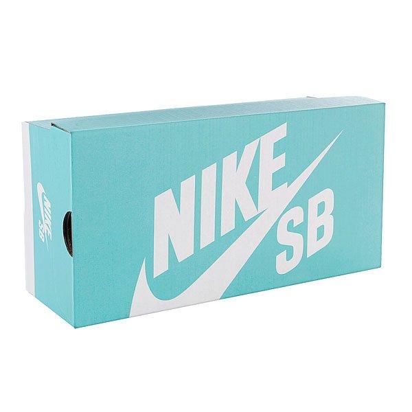 Кеды кроссовки высокие Nike Blazer Sb Premium Base Grey/Black/White от Proskater