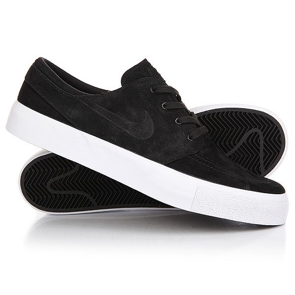 Кеды кроссовки низкие Nike Zoom Stefan Janosti Prem Ht Black/Black/White