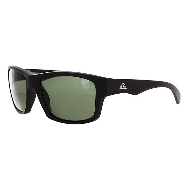 Очки Quiksilver Off Road Black/Plz Green очки quiksilver hideout plz pc matte black yellow p