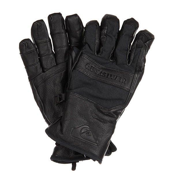 Перчатки сноубордические Quiksilver Wildcat BlackСноубордические перчатки из натуральной кожи с утеплителем Warmflight®.Технические характеристики: Натуральная кожа.Утеплитель Warmflight® (80 г).Преформованная модель.Регулируемое запястье.<br><br>Цвет: черный<br>Тип: Перчатки сноубордические<br>Возраст: Взрослый<br>Пол: Мужской
