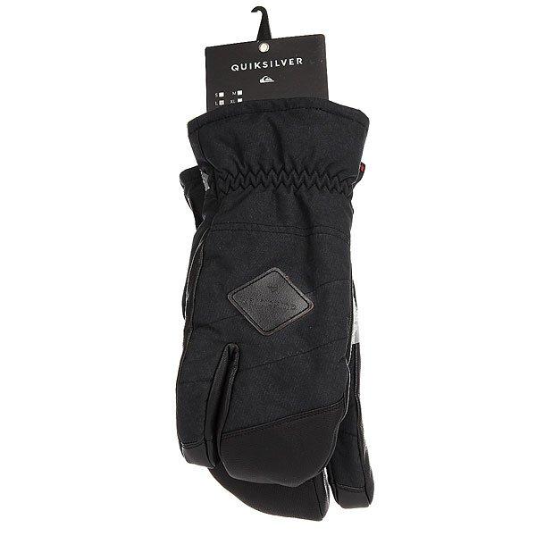 Варежки сноубордические Quiksilver Trigger Black