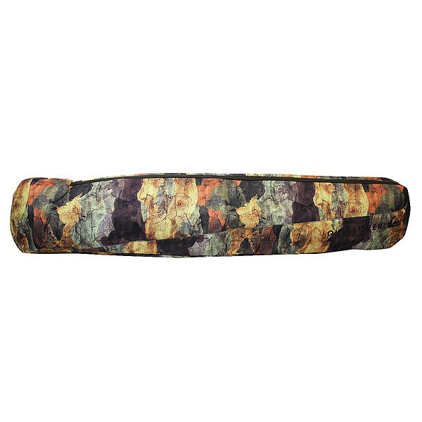 Чехол для сноуборда Quiksilver Vulcano WoodlandМягкий чехол для сноуборда Vulcano.Технические характеристики: Прочная синтетическая ткань.Объем – 102 л.Съемная заплечная лямка.Боковые ручки.Можно носить как сумку или рюкзак.<br><br>Цвет: мультиколор<br>Тип: Чехол для сноуборда<br>Возраст: Взрослый<br>Пол: Мужской