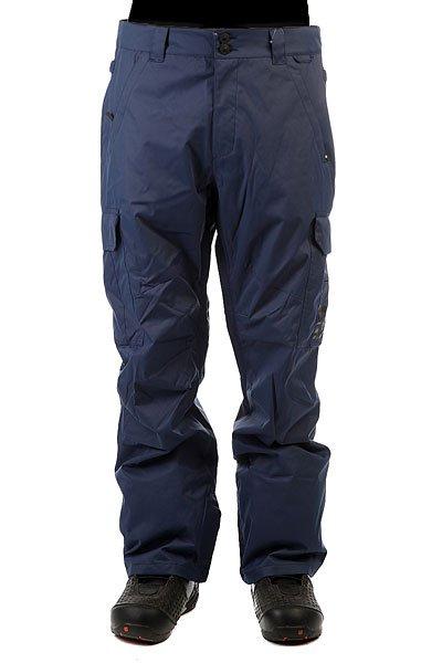 Штаны сноубордические DC Banshee Insignia BlueСноубордические штаны с карманами-карго и мембраной 10000 на 5000. На самом деле, эта модель уже давно присутствует в коллекциях компании DC и пользуется большой популярностью благодаря шикарному соотношению цены и качества. Проклеенные швы, немного утеплителя (40 г) и эргономичный крой - все это позволит Вам кататься в них с комфортом в любую погоду и в любом месте.Характеристики:Влагостойкая ткань Exotex 10K. Стандартный крой. Проклеенные критические швы. Сетчатая подкладка в зонах вентиляции.Подкладка из тафты. Снегозащитные гетры. Встроенная регулировка талии. Застежка на пуговицах. Крючок на манжете для крепления к ботинку. Петли для крепления штанов к куртке. Карманы для рук на молнии. Эргономичный крой в районе коленей. Два вместительных боковых кармана. Два задних кармана на липучке Velcro.<br><br>Цвет: синий<br>Тип: Штаны сноубордические<br>Возраст: Взрослый<br>Пол: Мужской