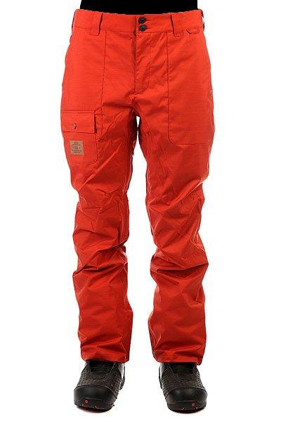 Штаны сноубордические DC Dealer Ketchup Red
