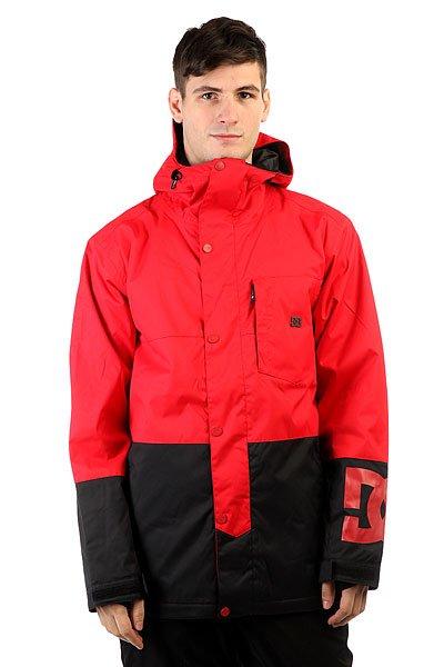 Куртка DC Defy Racing RedКонтрастная расцветка, технологичный мембранный материал и функциональные элементы в виде многочисленных карманов, снегозащитной юбки и вентиляционных отверстий с сетчатой подкладкой. Мужская куртка DC Defy обеспечит комфортное катание с чувством абсолютной свободы действий, защищая от влаги и ветра. Водонепроницаемая мембранная ткань Exotex 10Kи качественный синтетический утеплитель позволят выходить на склон в холодную погоду, а в случае потепления вентиляционные отверстия с готовностью помогут оптимизировать температуру под личные предпочтения.Характеристики:Водонепроницаемая мембрана Exotex 10K(10 000 мм / 5 000 г). Удлиненный крой. Центральная молния по всей длине с ветрозащитным клапаном на кнопках. Регулируемый капюшон. Высокий ворот.Теплая и приятная к телу подкладка из тафты. Утеплитель (тело 100 г, рукава 60 г). Проклеенные критические швы. Нагрудный карман на молнии с каналом для наушников. Карманы для рук с теплой подкладкой. Карман для ски-пасса на молнии на рукаве. Внутренний сетчатый карман для маски. Вентиляционные отверстия в зоне подмышек. Снегозащитная юбка. Эластичные внутренние манжеты с отверстиями для большого пальца. Регулируемые манжеты на липучке. Система пристегивания куртки к штанам. Регулируемый подол. Фирменный логотип на рукаве и нагрудном кармане.<br><br>Цвет: красный,черный<br>Тип: Куртка утепленная<br>Возраст: Взрослый<br>Пол: Мужской