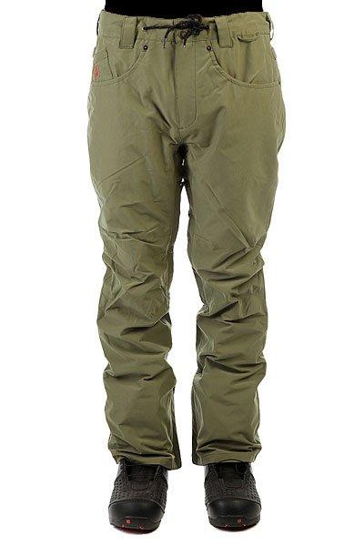 Штаны сноубордические DC Relay Pnt Four Leaf CloverШтаны DC Relay очень легко перепутать с обычными брюками благодаря прямому крою и классическим карманам. Но лишь на этом сходство и заканчивается. Влагостойкая ткань Exotex 15K в сочетании со снегозащитными гетрами и карманами, надежно закрывающимися на молнии и липучки, готовы создать для Вас персональную защиту от ветра, холода и слякоти. А в жаркую солнечную погоду Вам будет достаточно расстегнуть вентиляционные сетчатые карманы и наслаждаться весенней свежестью и комфортным катанием с ветерком.Характеристики:Влагостойкая тканьExotex 15K. Подкладка тафта с сетчатой тканью для сохранения тепла. Прямой крой. Полностью проклеенные швы. Сетчатые карманы с внутренней стороны бедра для вентиляции. Снегозащитные гетры из тафты. Встроенная регулировка талии. Застежка на пуговицах. Ширинка на молнии. Крючок на штанине для пристегивания к ботинку. Петли для крепления штанов к куртке. Специальный держатель для ски-пасса. Шнурок на поясе. Карман для мелочи.Карманы для рук на молнии. Эргономичный крой коленей. Два задних кармана на липучке. Нашивка с логотипом на кармане для мелочи. Коллекция: Research Mountain.<br><br>Цвет: зеленый<br>Тип: Штаны сноубордические<br>Возраст: Взрослый<br>Пол: Мужской