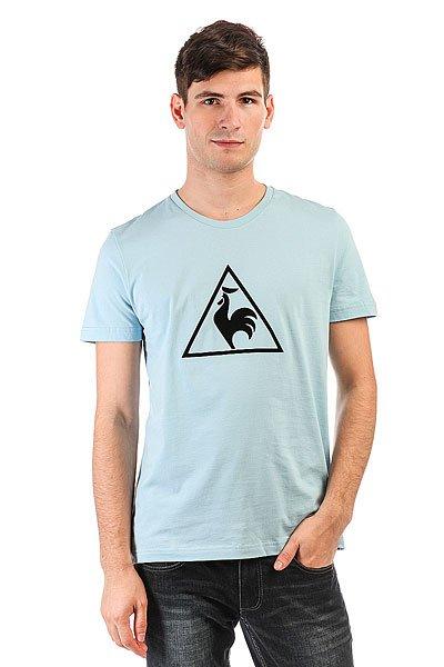 Футболка Le Coq Sportif Abrito Bleu Ciel<br><br>Цвет: голубой<br>Тип: Футболка<br>Возраст: Взрослый<br>Пол: Мужской